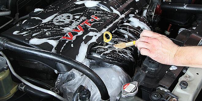 Как мыть мотор