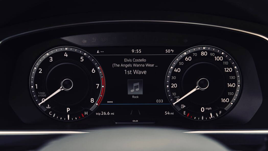 Одометр VW Tiguan 2020