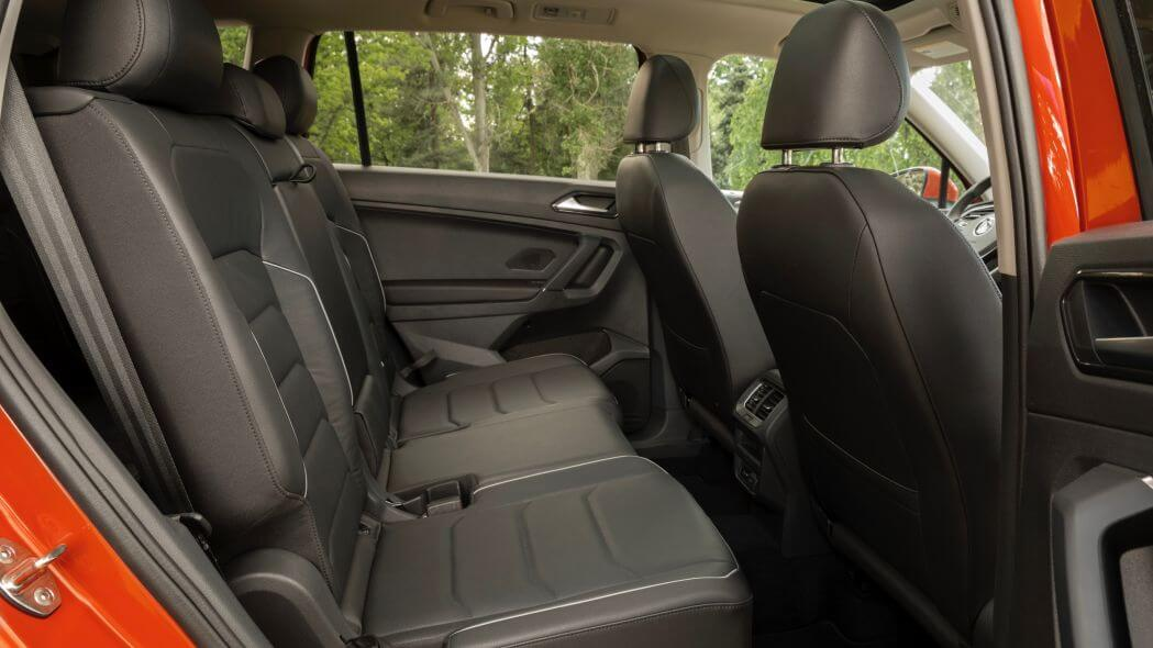 Салон Volkswagen Tiguan 2020