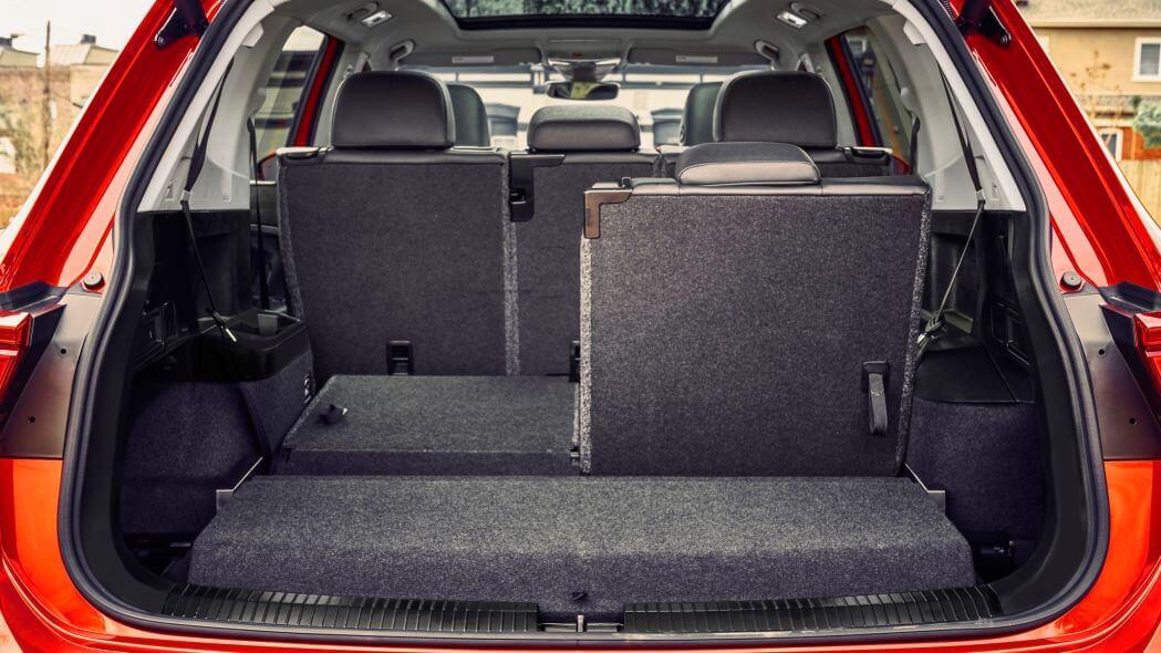 Багажник Volkswagen Tiguan 2020