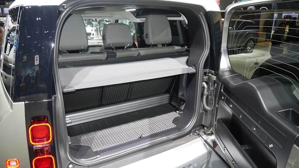 Land Rover Defender Багажник