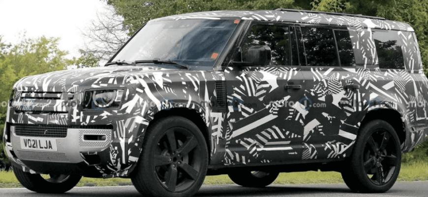 Новий Land Rover Defender